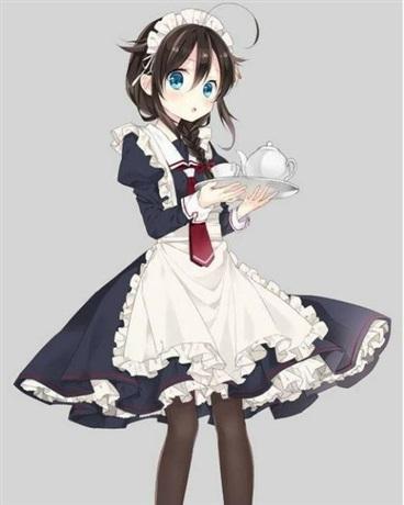 可爱的我被拐去当女仆了